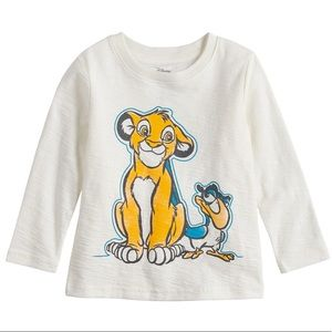 NWT Jumping Beans Disney The Lion King 4T T-Shirt